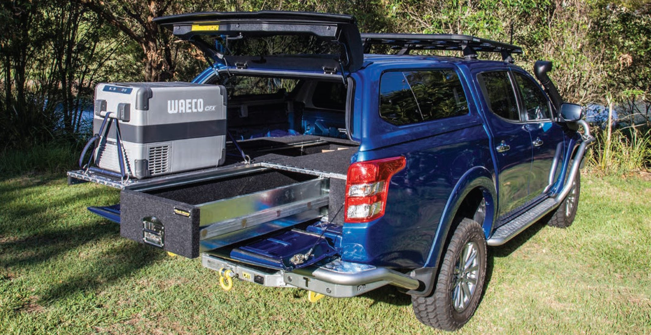 Black Widow Drawer Systems 4x4 Rear Drawers 4wd Drawer